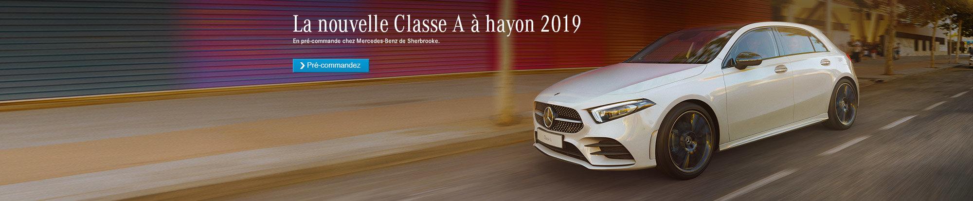 La nouvelle Mercedes-Benz de classe A 2019 à hayon.