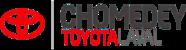 Logo de Chomedey Toyota Laval