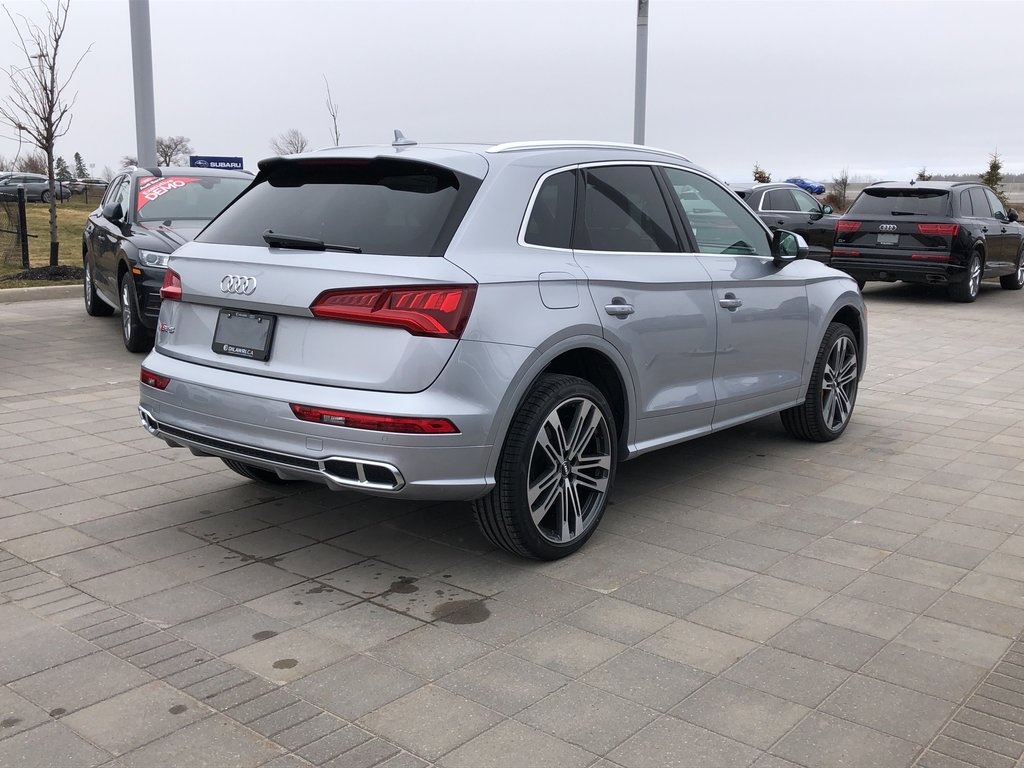 Audi Barrie   2020 Audi SQ5 3.0T Progressiv quattro 8sp ...