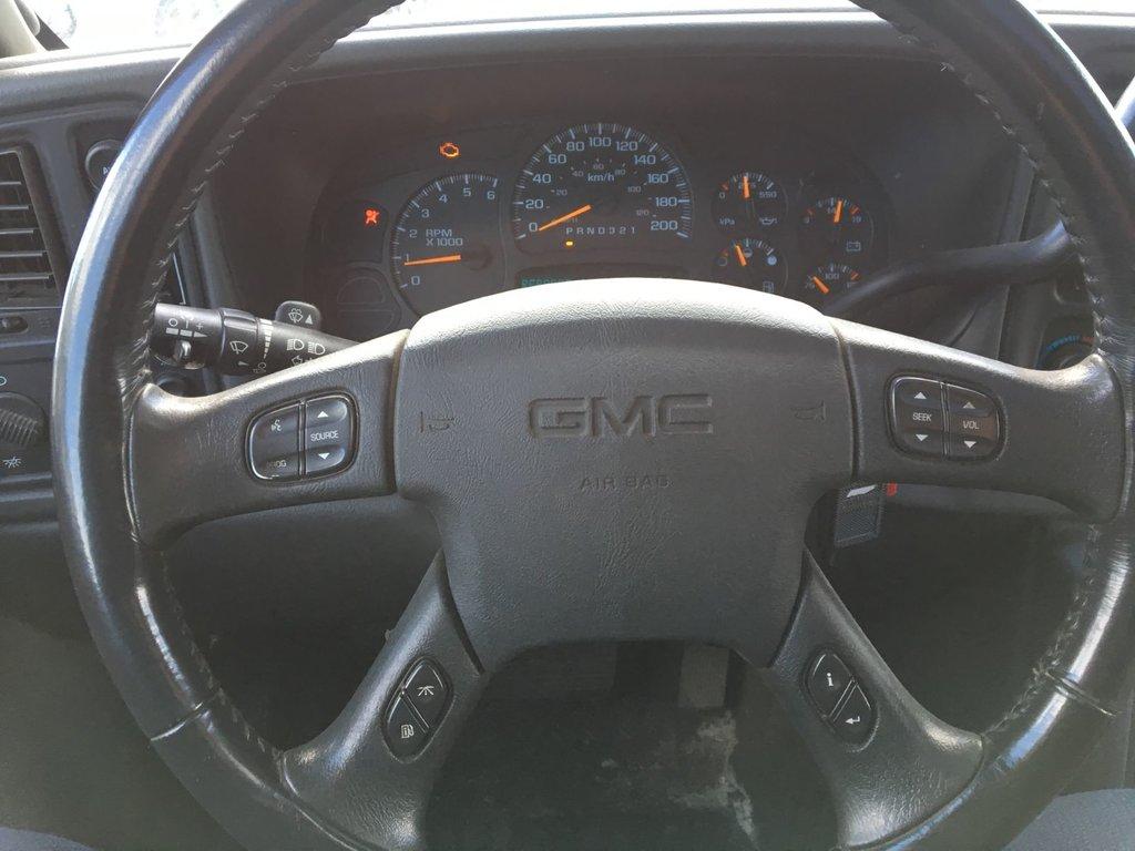 GMC Sierra 1500 classic SLE CREW CAB 4X4, DVD