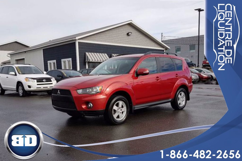 Used 2010 Mitsubishi Outlander LS AWD 4X4 V6 7 PASSAGERS A/C