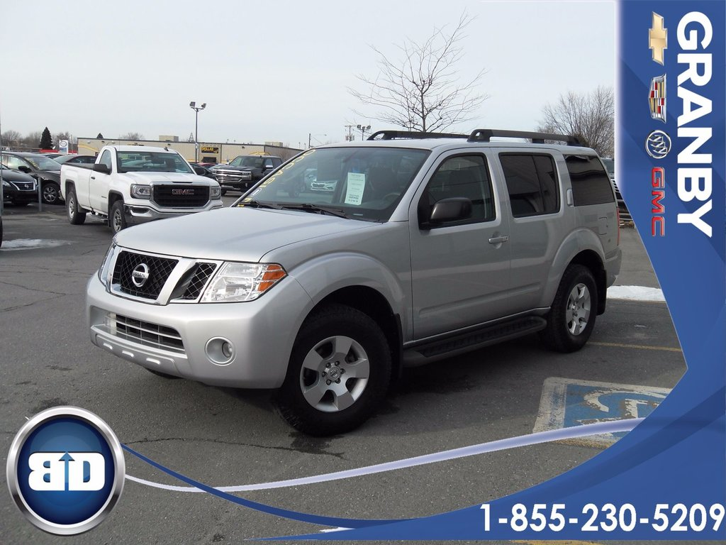2010 nissan pathfinder s 4x4 7 passagers hitch d 39 occasion granby inventaire d 39 occasion. Black Bedroom Furniture Sets. Home Design Ideas