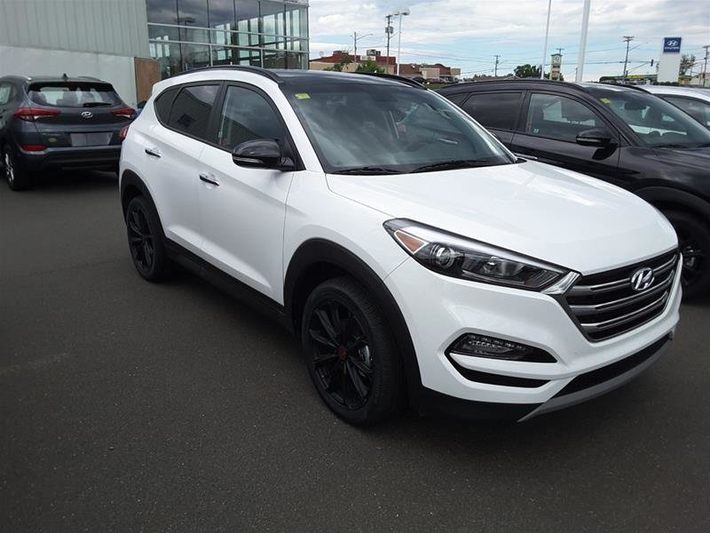 2018 hyundai tucson awd 1 6t noir neuf en inventaire bayside hyundai bathurst. Black Bedroom Furniture Sets. Home Design Ideas
