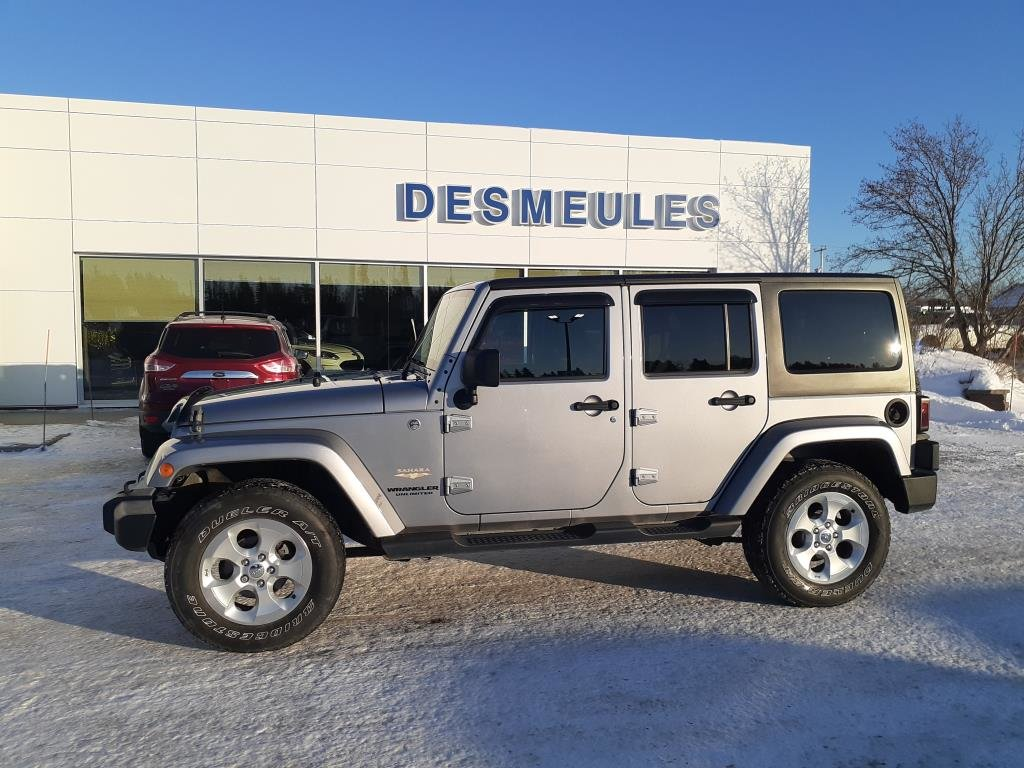 Used 2014 Jeep Wrangler Unlimited Sahara 4wd In Les Escoumins Used Inventory Desmeules Auto In Les Escoumins Quebec
