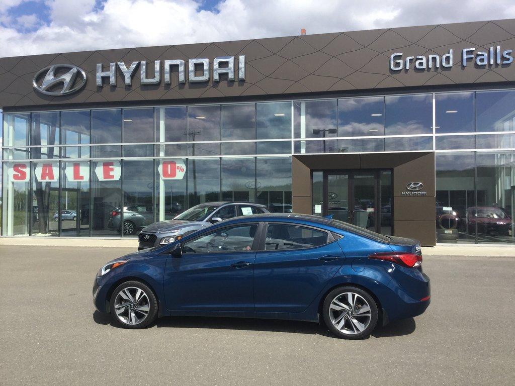 Hyundai Extended Warranty >> Used 2015 Hyundai Elantra Gls In Grand Falls Used Inventory