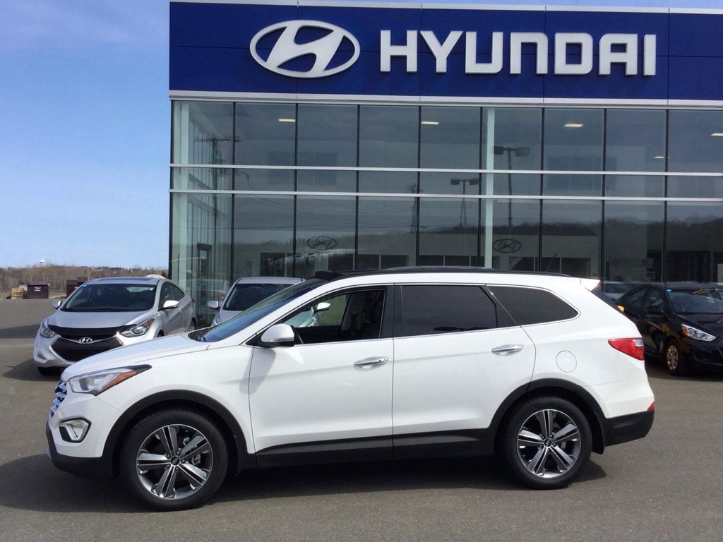 Elegant 2015 Hyundai Santa Fe Suv