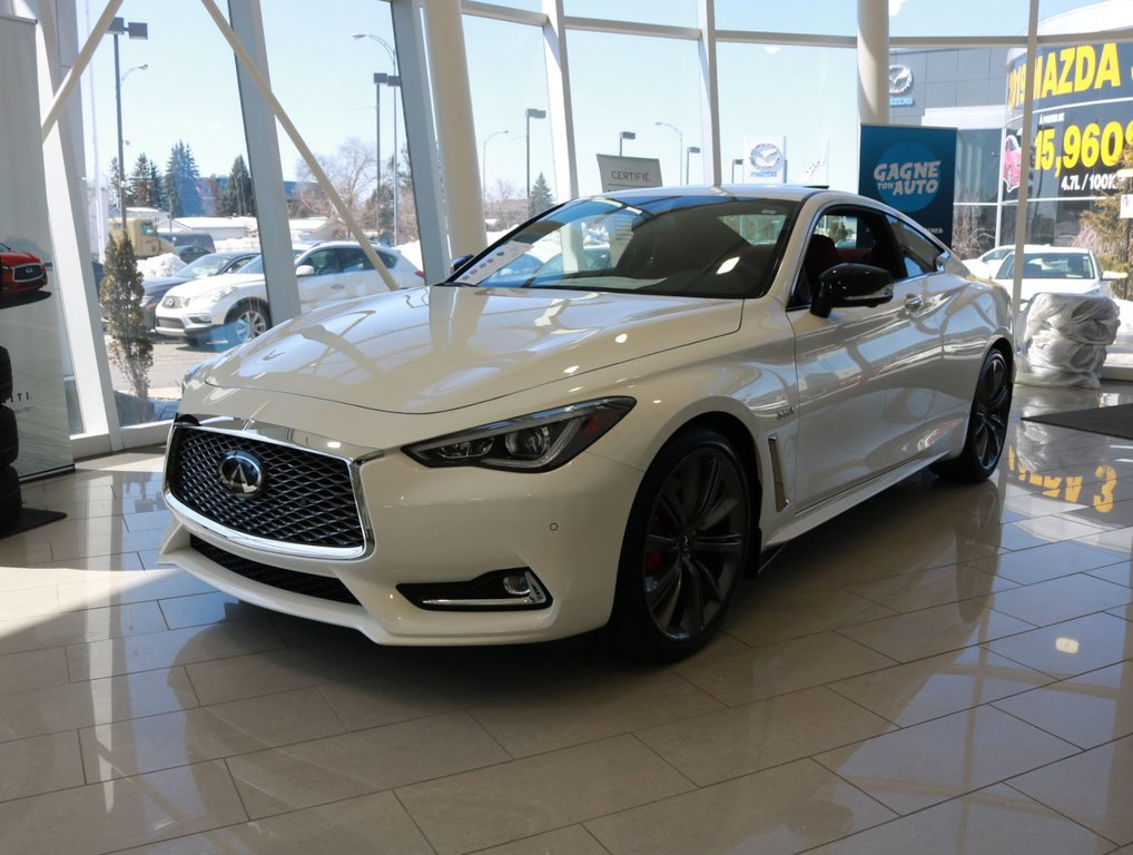New 2019 Infiniti Q60 Red Sport 400 For Sale In Gatineau