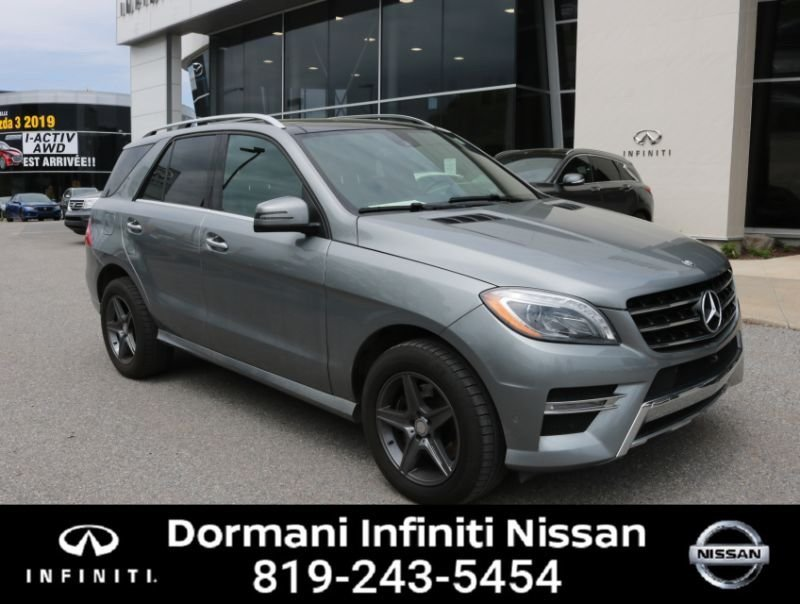Used 2015 Mercedes-Benz ML350 ML350 BlueTEC in Gatineau - Used