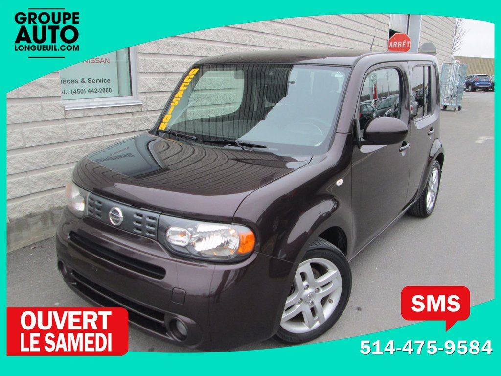 2009 nissan cube auto a c bas kilo mags d 39 occasion longueuil inventaire d 39 occasion. Black Bedroom Furniture Sets. Home Design Ideas