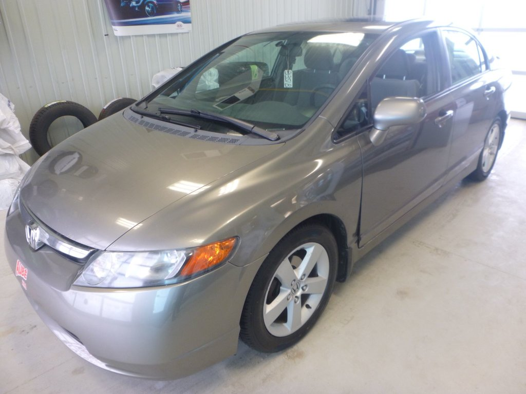 Honda Val D Or >> Used 2007 Honda Civic Sdn Ex In Val D Or Used Inventory