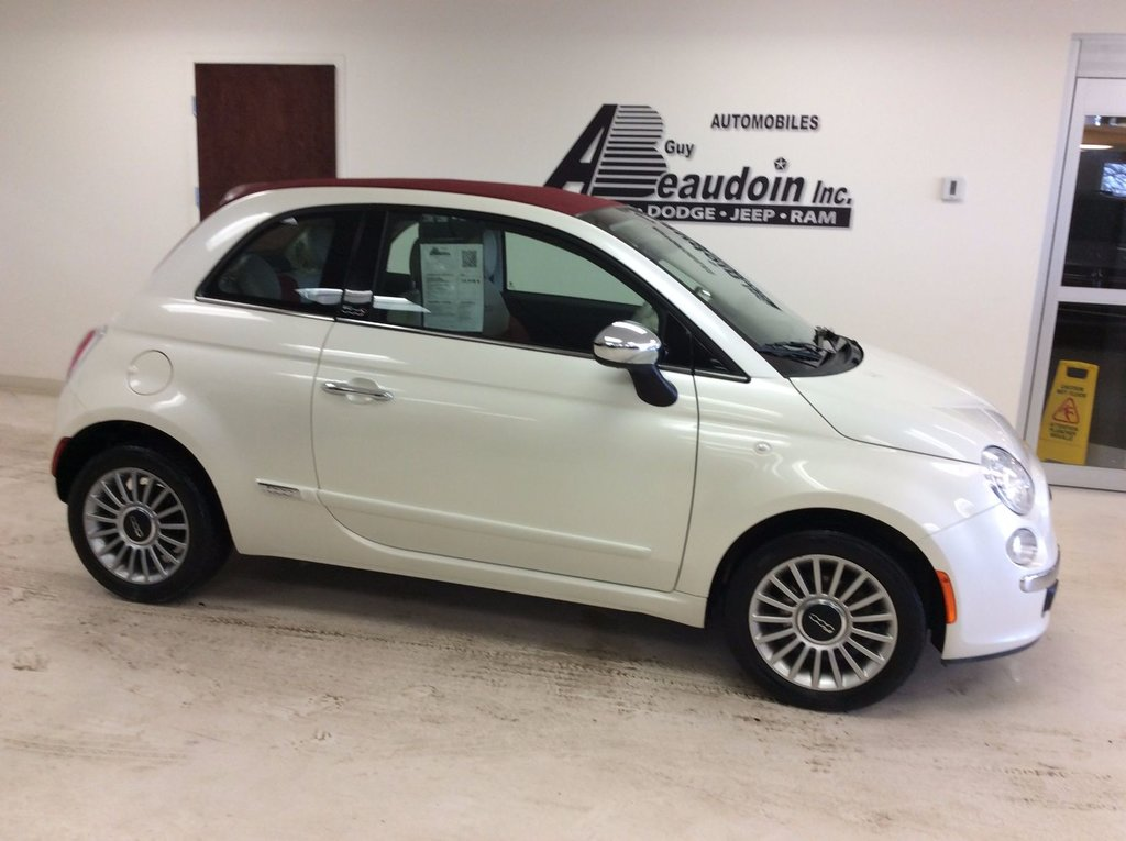 used 2012 fiat 500 lounge convertible int cuir si ge chauffant in laurier station used. Black Bedroom Furniture Sets. Home Design Ideas