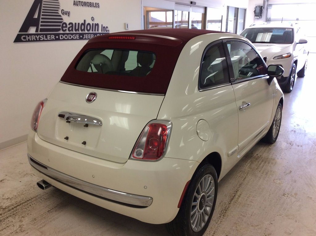 2012 fiat 500 lounge convertible int cuir si ge chauffant d 39 occasion laurier station. Black Bedroom Furniture Sets. Home Design Ideas