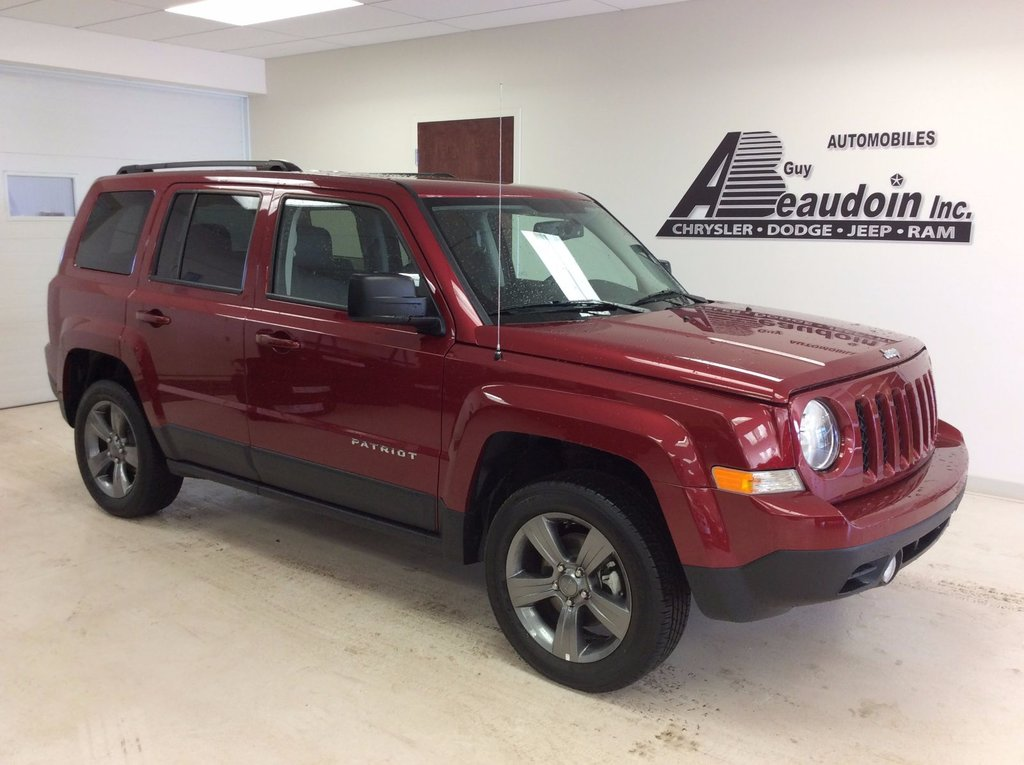 used 2015 jeep patriot high altitude 4x4 in laurier station used inventory automobile guy. Black Bedroom Furniture Sets. Home Design Ideas
