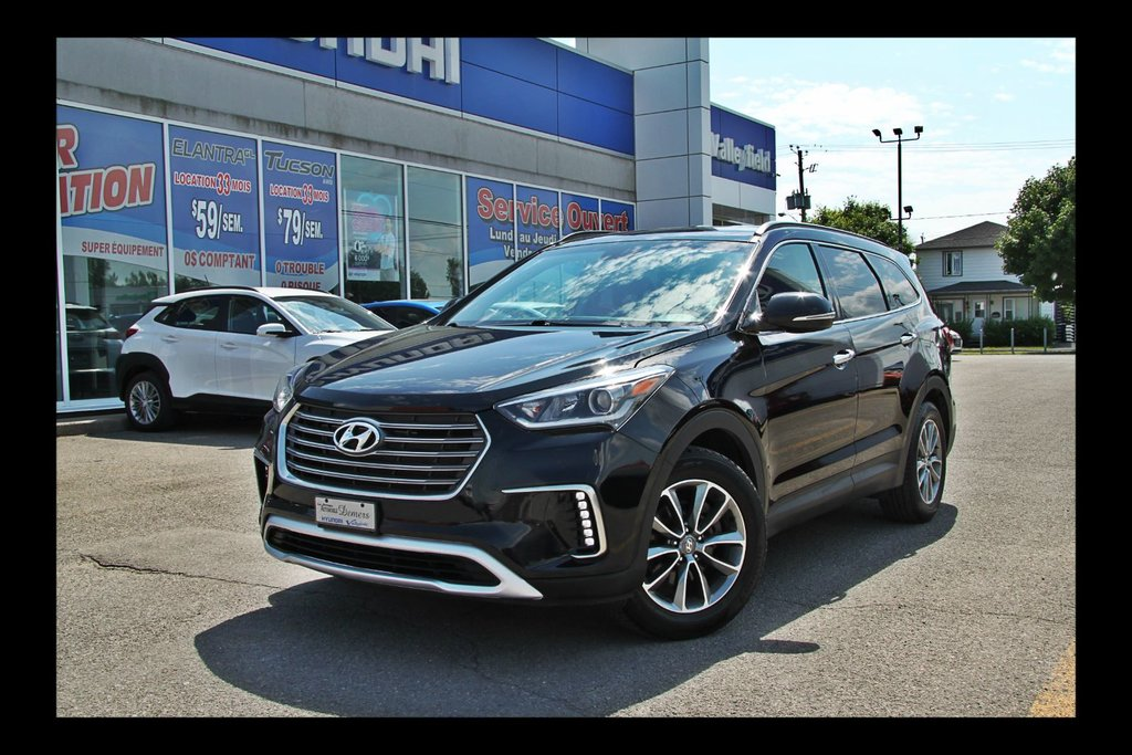 Used 2017 Hyundai Santa Fe Xl Mags V6 7 Place In Valleyfield Used Inventory Hyundai Valleyfield In Valleyfield Quebec