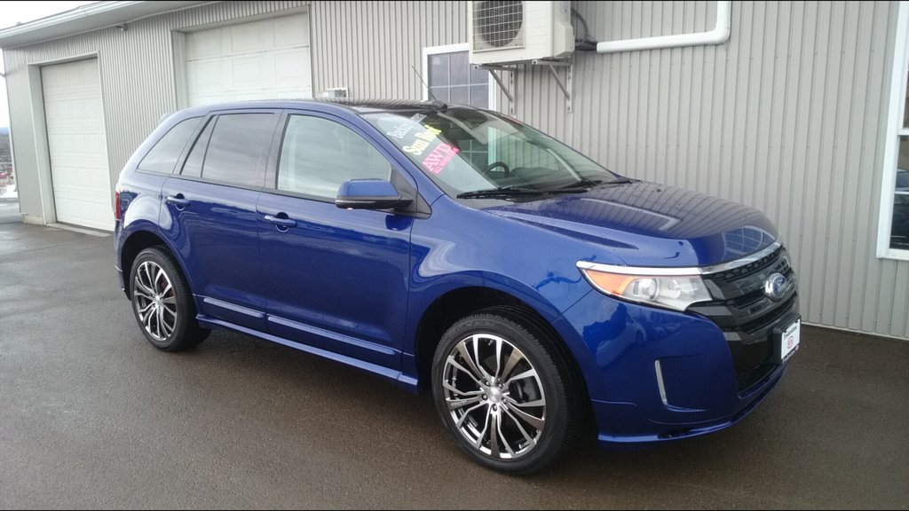 used 2013 ford edge sport awd in fredericton used inventory fredericton kia in fredericton. Black Bedroom Furniture Sets. Home Design Ideas
