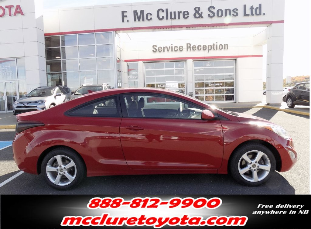Hyundai Elantra Coupe >> Used 2013 Hyundai Elantra Coupe In Grand Falls Used Inventory