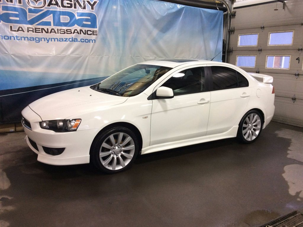 used 2008 mitsubishi lancer gts, toit in montmagny - used inventory