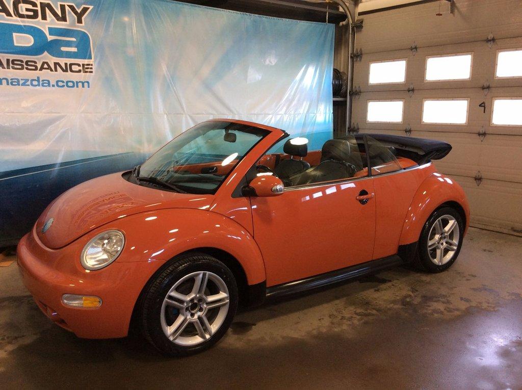 2004 volkswagen new beetle convertible glx cuir a c. Black Bedroom Furniture Sets. Home Design Ideas