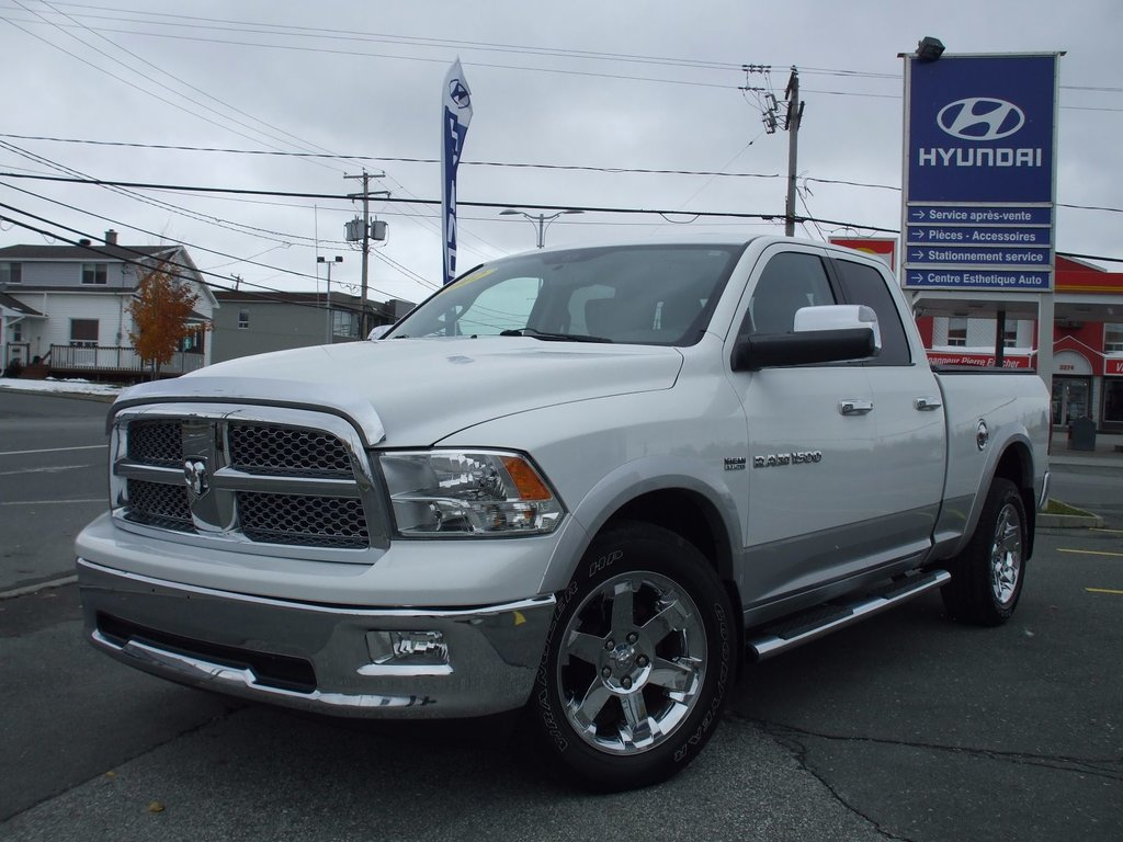 Used 2012 Dodge Ram 1500 Laramie Quad Cab 57 Litres To Sale For 28 In Thetford Mines Inventory Ruby Hyundai Quebec
