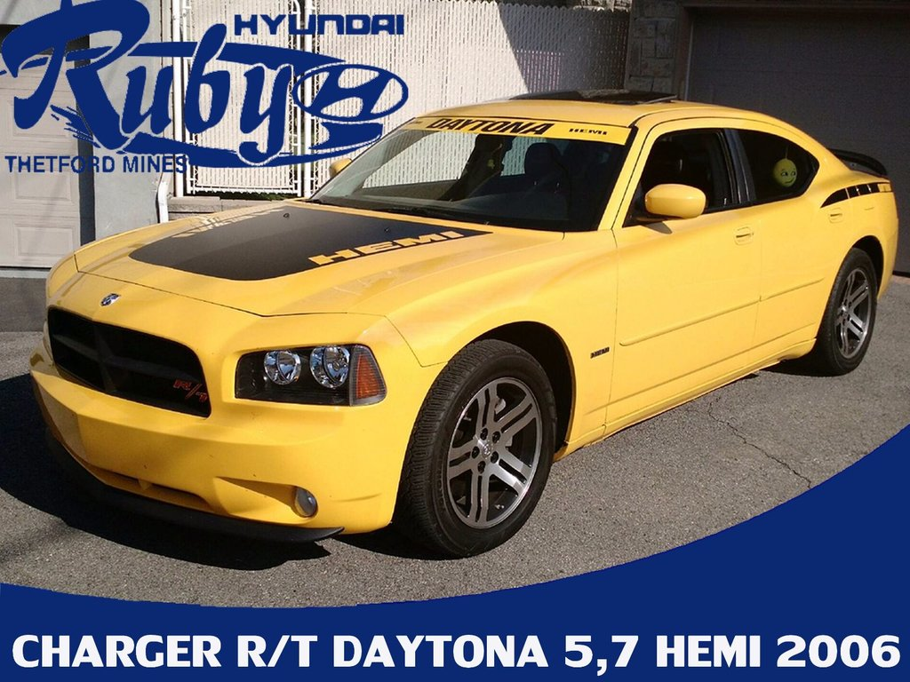 Used 2006 Dodge Charger R T Daytona 5 7 Hemi In Thetford Mines
