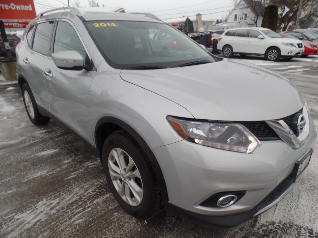 Used 2014 nissan rogue sv fwd cvt in grand falls used inventory 2014 nissan rogue vanachro Image collections