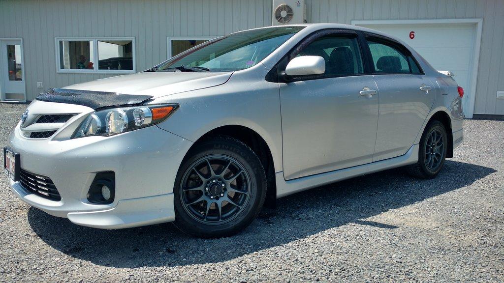 Used 2012 Toyota Corolla 4 Door Sedan S 4a In Grand Falls