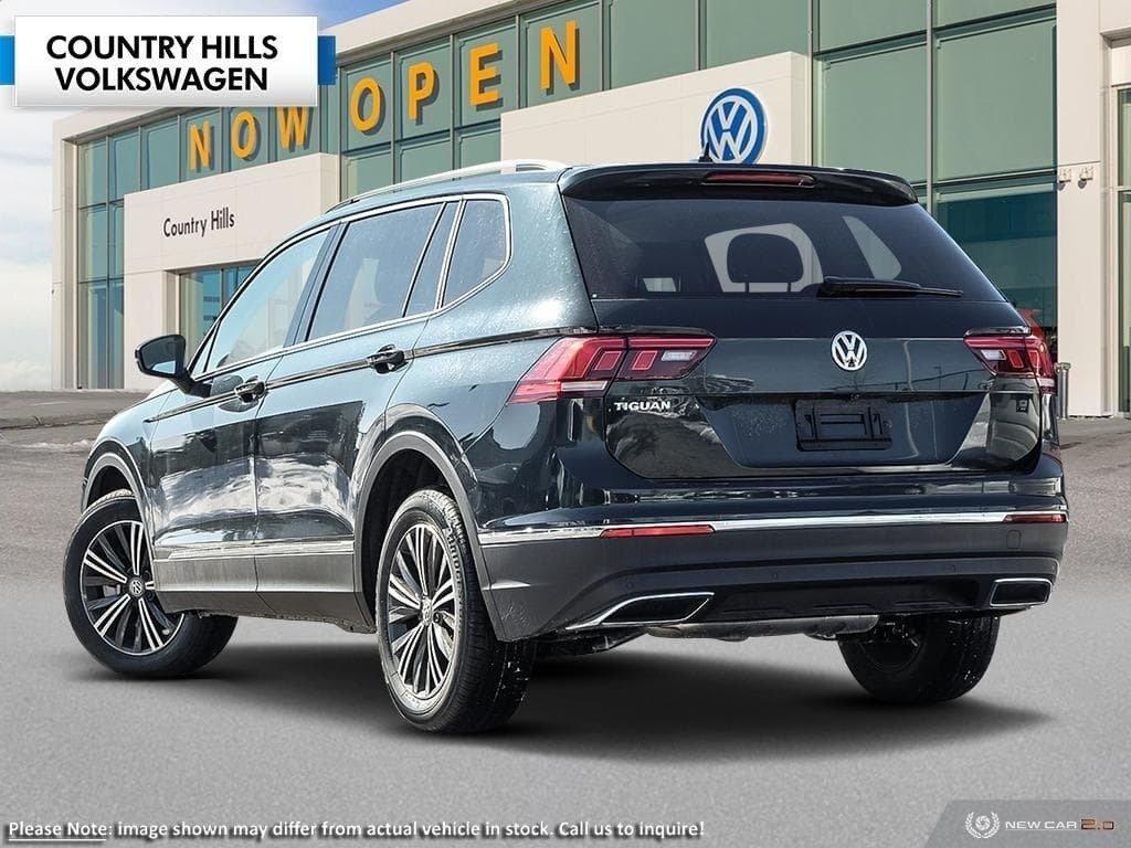 Country Hills Volkswagen   2019 Volkswagen Tiguan Highline ...