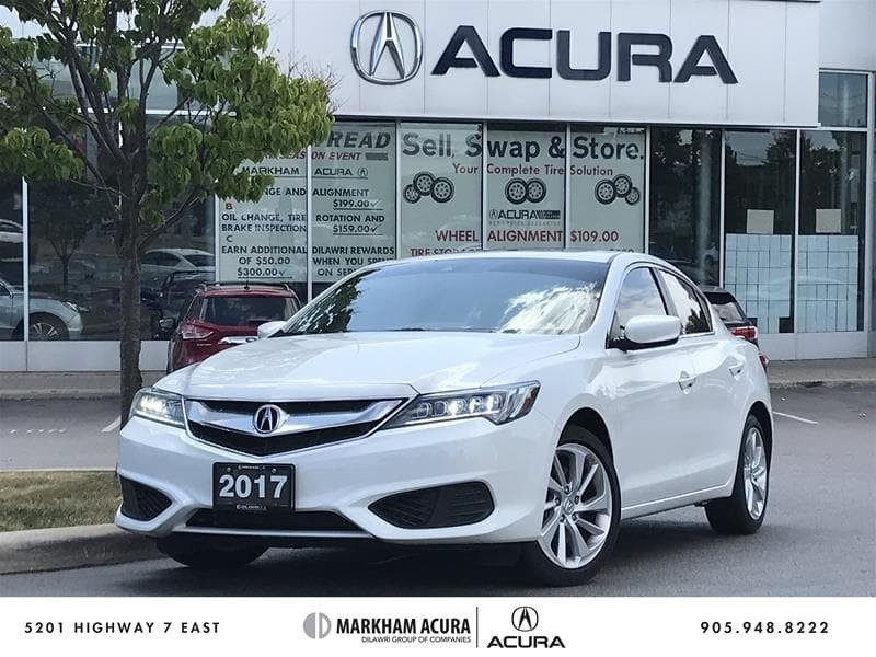 2017 Acura ILX 8DCT in Markham, Ontario - 1 - w1024h768px