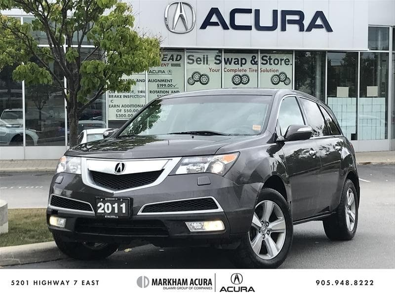 2011 Acura MDX 6sp at in Markham, Ontario - 1 - w1024h768px