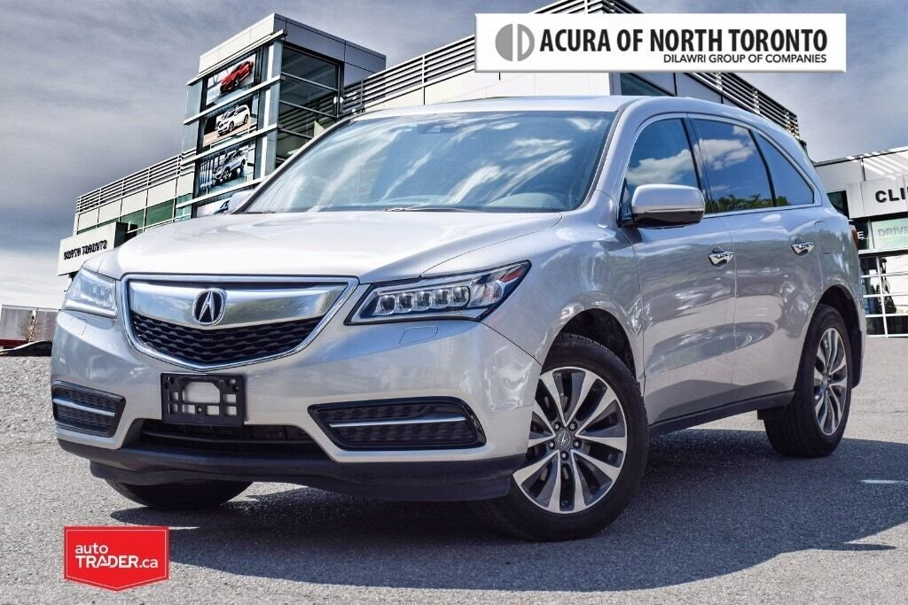 2014 Acura MDX Navigation at in Thornhill, Ontario - 1 - w1024h768px