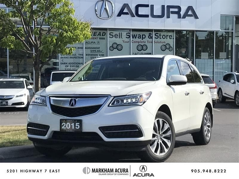 2015 Acura MDX Navigation at in Markham, Ontario - 1 - w1024h768px