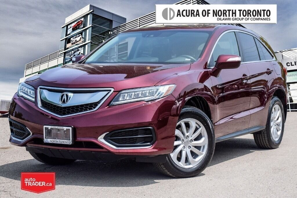 2017 Acura RDX Tech at in Thornhill, Ontario - 1 - w1024h768px