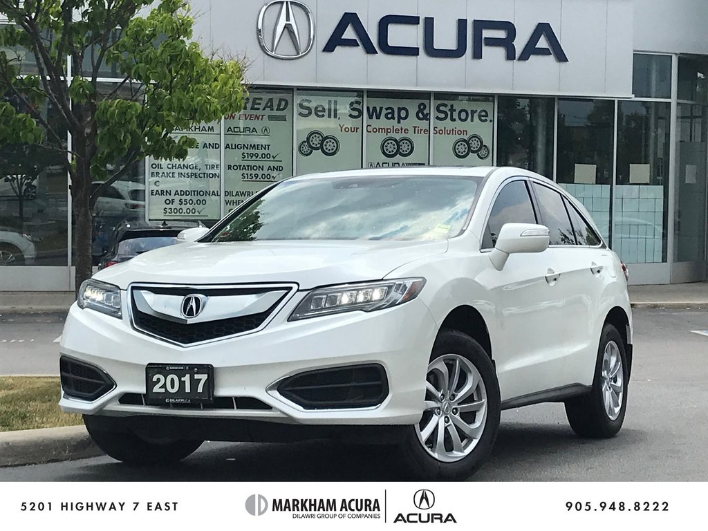 2017 Acura RDX Tech at in Markham, Ontario - 1 - w1024h768px