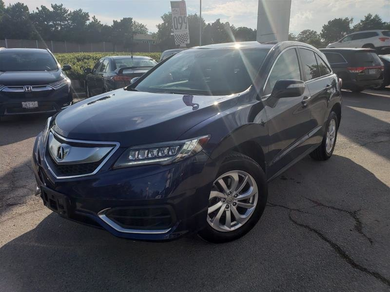 2017 Acura RDX Tech at in Mississauga, Ontario - 1 - w1024h768px