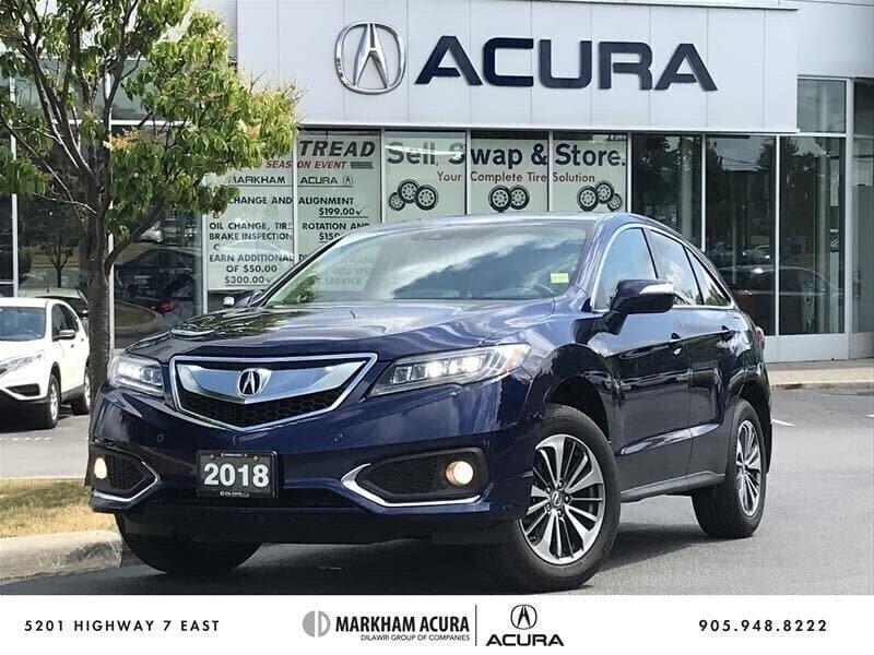2018 Acura RDX Elite at in Markham, Ontario - 1 - w1024h768px