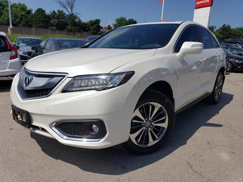 2018 Acura RDX Elite at in Mississauga, Ontario - 1 - w1024h768px