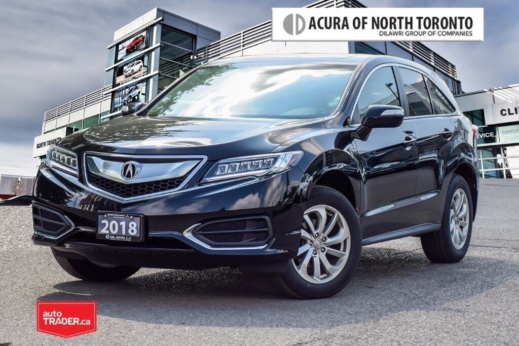2018 Acura RDX Tech at in Thornhill, Ontario - 1 - w1024h768px