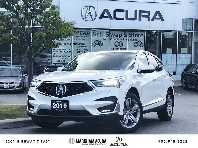 2019 Acura RDX Platinum Elite at in Markham, Ontario - 1 - w1024h768px