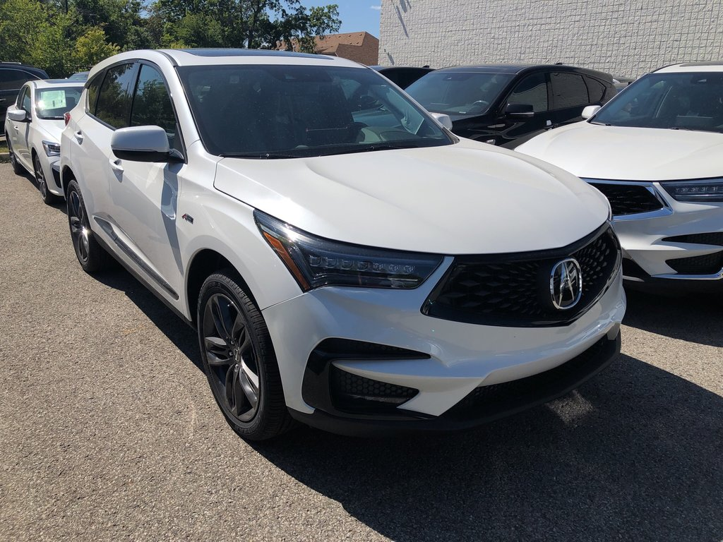 2020 Acura RDX SH-AWD A-Spec at in Markham, Ontario - 3 - w1024h768px