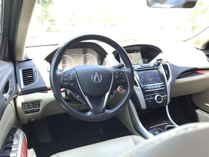 2015 Acura TLX 3.5L SH-AWD w/Elite Pkg in Markham, Ontario - 10 - w1024h768px