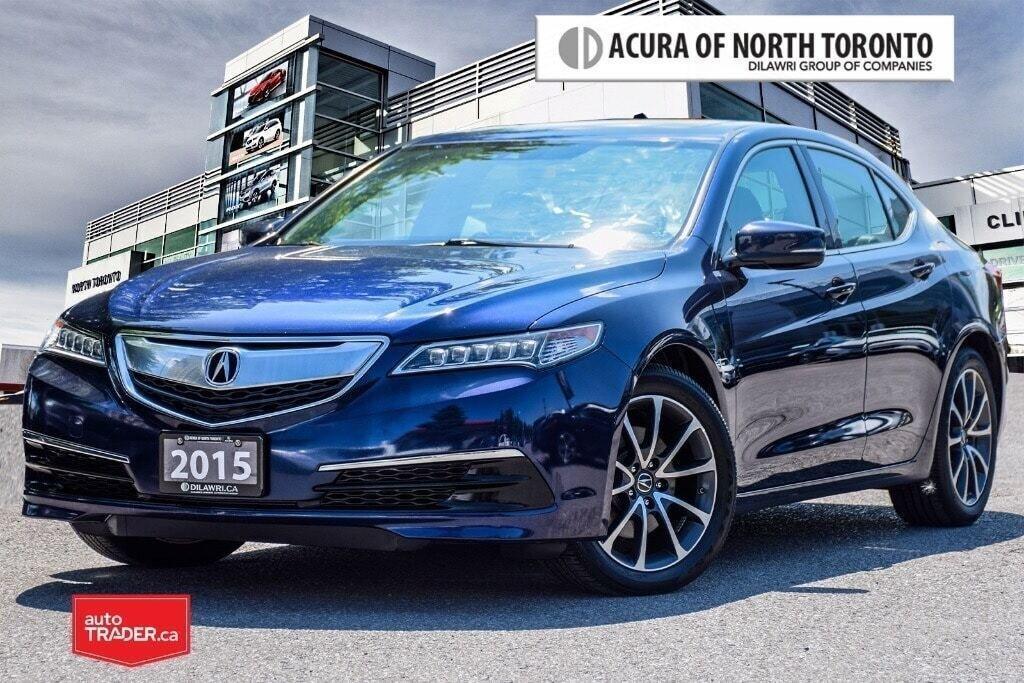 2015 Acura TLX 3.5L SH-AWD w/Tech Pkg in Thornhill, Ontario - 1 - w1024h768px