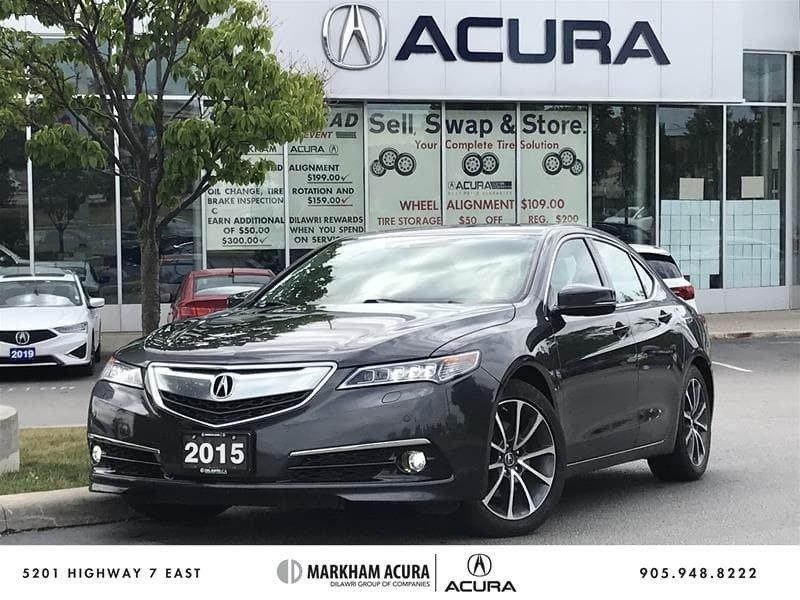 2015 Acura TLX 3.5L P-AWS w/Elite Pkg in Markham, Ontario - 1 - w1024h768px