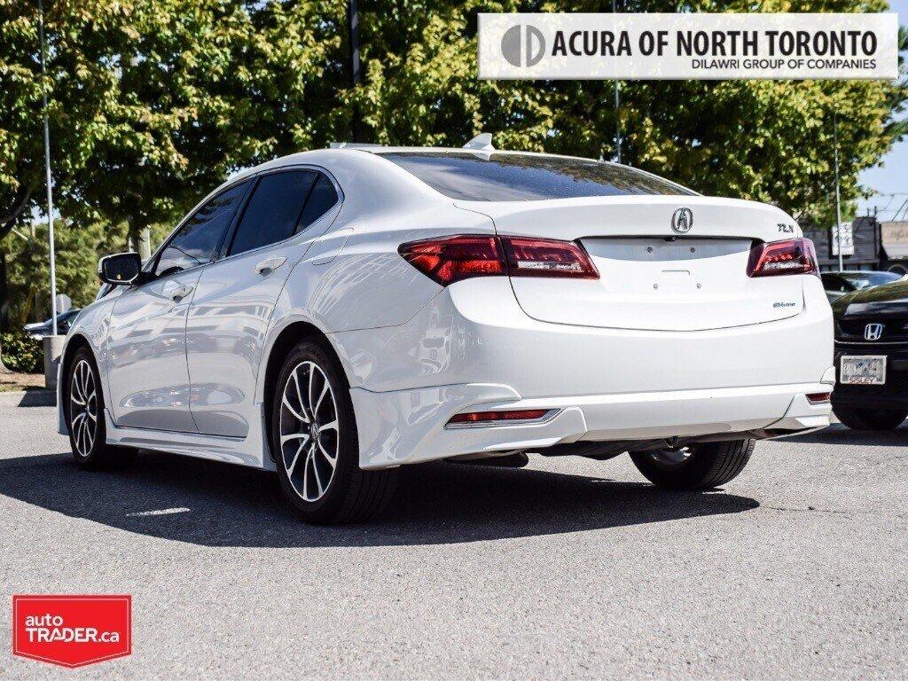 2015 Acura TLX 3.5L SH-AWD w/Tech Pkg in Thornhill, Ontario - 3 - w1024h768px