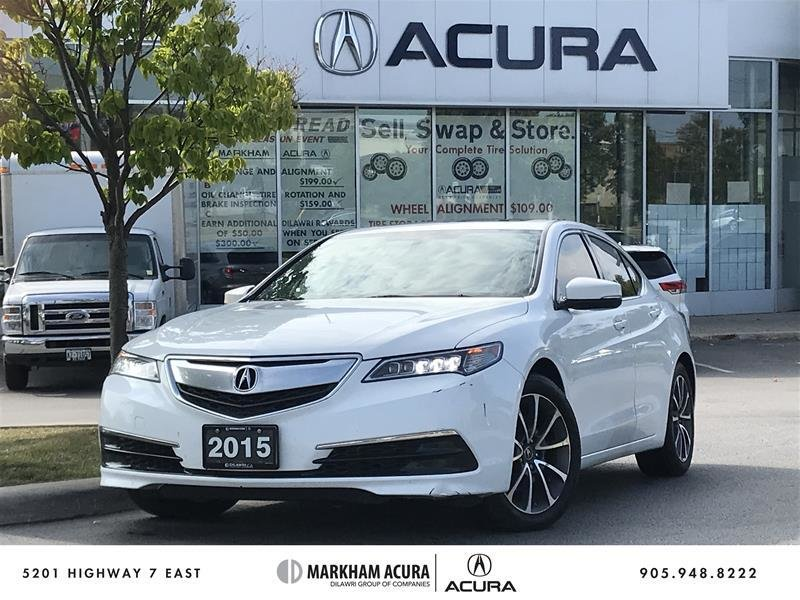 2015 Acura TLX 3.5L SH-AWD in Markham, Ontario - 1 - w1024h768px