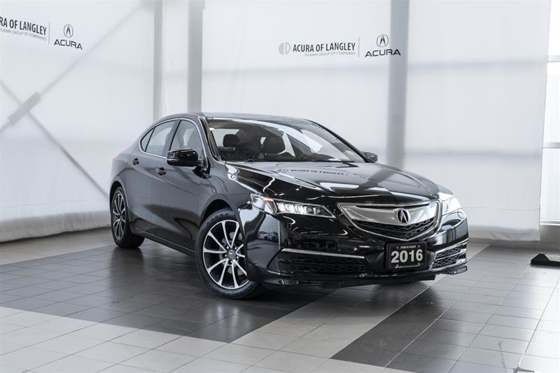 2016 Acura TLX 2.4L P-AWS w/Tech Pkg in Langley, British Columbia - 1 - w1024h768px