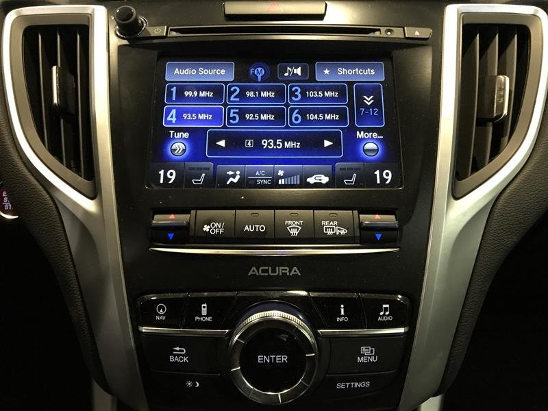 2017 Acura TLX 3.5L SH-AWD w/Tech Pkg in Markham, Ontario - 40 - w1024h768px