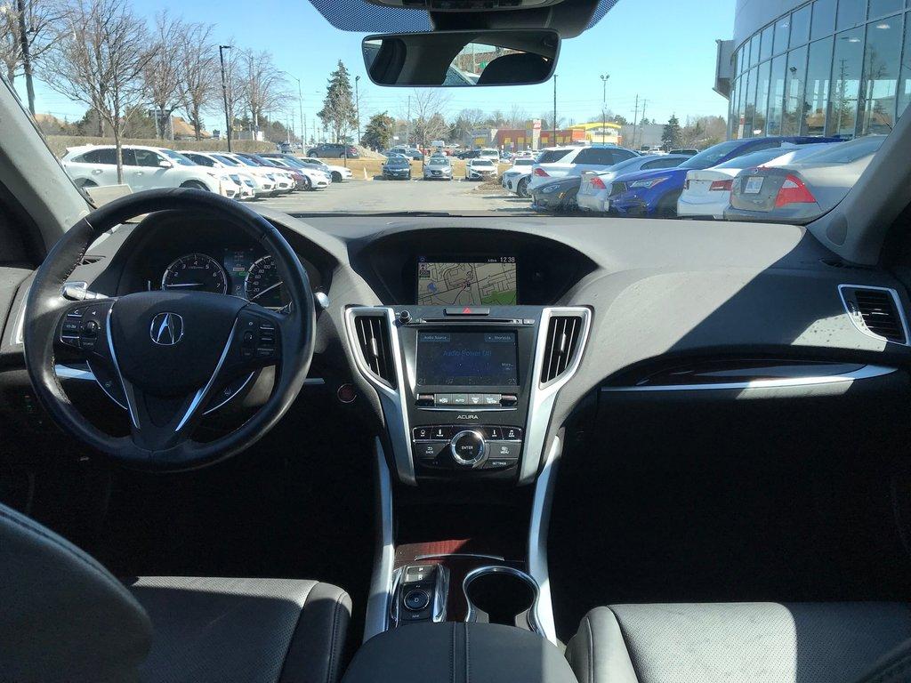 2017 Acura TLX 3.5L SH-AWD w/Tech Pkg in Markham, Ontario - 13 - w1024h768px