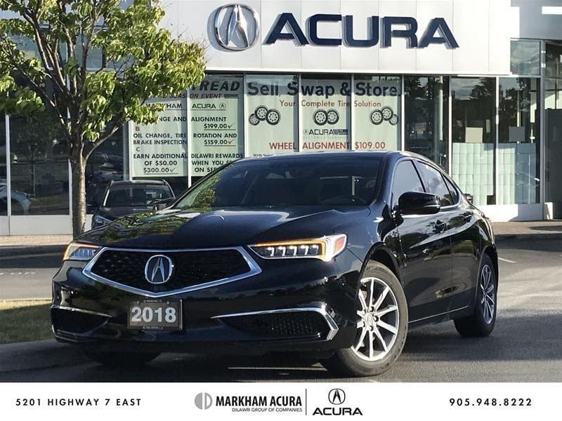 2018 Acura TLX 2.4L P-AWS w/Tech Pkg in Markham, Ontario - 1 - w1024h768px