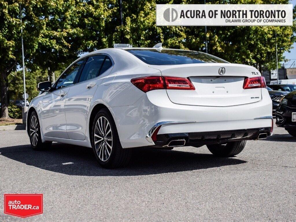 2018 Acura TLX 3.5L SH-AWD w/Tech Pkg in Thornhill, Ontario - 3 - w1024h768px