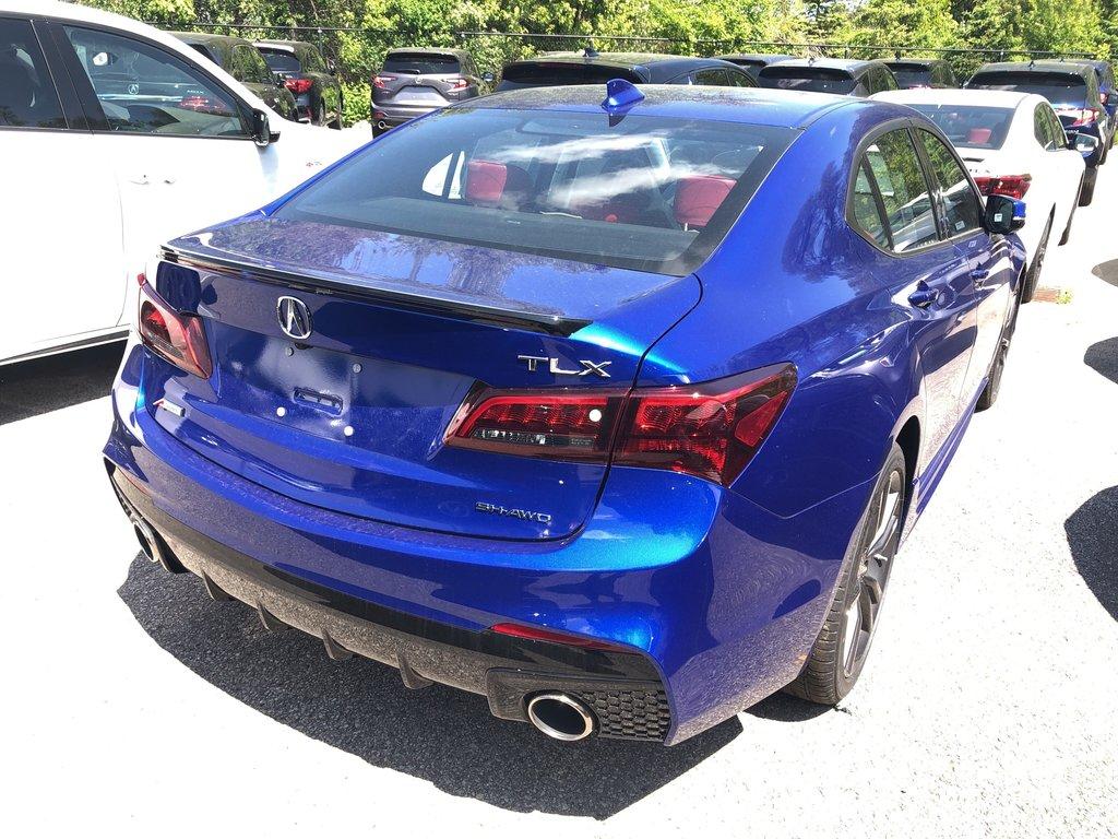 2020 Acura TLX 3.5L SH-AWD w/Tech Pkg A-Spec Red in Markham, Ontario - 4 - w1024h768px